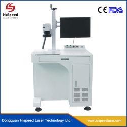 máquina de marcação a laser de fibra Steel 20W para as jantes de aço inoxidável, Metal etc