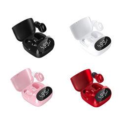 Écouteurs écouteurs sans fil étanche Vr casque antibruit XG-29 Affichage horloge LED