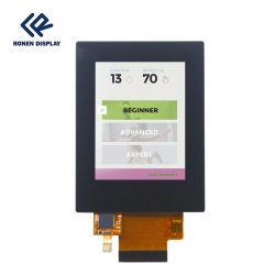 Ronen 2.4 pouces panneau LCD 240X320 résolution IPS angle de vue total Écran tactile capacitif TFT LCD Rg-T024HQI-13cp
