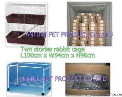2 Geschichte-Kaninchen-Häschen-Rahmen