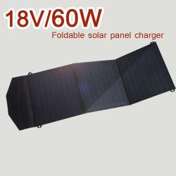 100W 80W 60W de alta eficiencia de conversión de energía móvil Panel portátil cargador solar