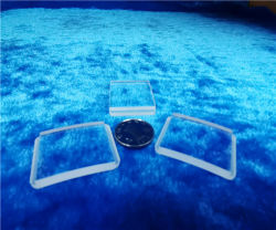 La Chine ménisque personnalisée en usine lentille cylindrique fibre Tête de gondole pour optique E Qquipments miroir