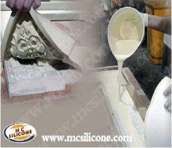 RTV Silicone Molds voor Gypsum Kroonlijst Molding (mcsil-M25)