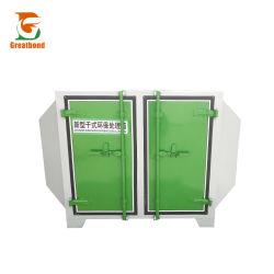 Macchina del kit del filtro dal carbonio attivata strumentazione di trattamento della foschia della vernice del gas dei residui industriali