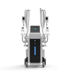 Cryo 4개의 손잡이 Coolplas Coolsculpting 기계를 체중을 줄이는 뚱뚱한 어는 체중 감소 Cryotherapy Cryolipolysis Cooltech 뚱뚱한 어는 바디
