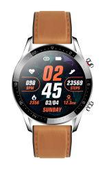 Venda por grosso volta a tela de toque HL05 Smartwatch Business Banda Moda homens personalizar o produto