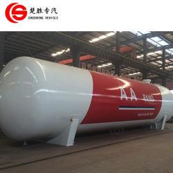 25톤 수평 벌크 가스 탱크 50cbm LPG 탱커 배송 판매