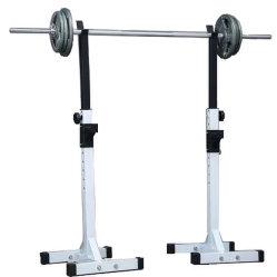 Регулируемый спортивный зал в приседе Barbell дома оборудование для фитнеса в приседе для установки в стойку