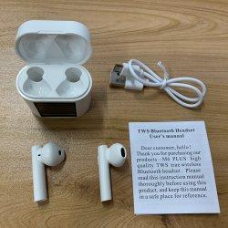 visor digital com ar M6 mais fones de ouvido sem fio Bluetooth 5.0 Verdadeiro Sports in-ear fone de ouvido estéreo