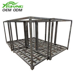 Montaggio pesante su ordinazione della lamiera sottile che timbra la cremagliera del servizio rete del blocco per grafici del metallo della parte della saldatura