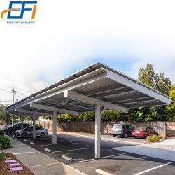 Support de montage de l'énergie solaire pour Caravane abri industriel de montage solaire Système solaire avec structure de montage