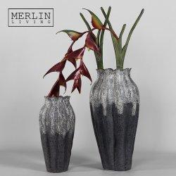 북유럽 스타일 유광 현대적인 꽃 꽃병