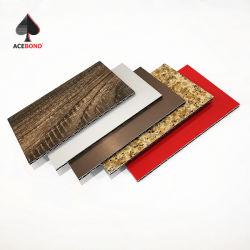 Feuer bewertete 4mm ACP-Blatt-Aluminiumprofil-Wabenkern-Zwischenlage-Panel