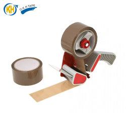 Brown BOPP Fita da embalagem com dispensador para venda