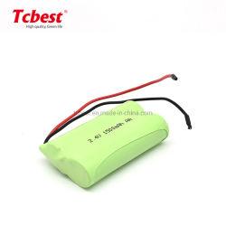 pacchetto Bateria ricaricabile Baterias di 2.4V 1500mAh Ni-MH aa per la batteria del giocatore dei E-Giocattoli