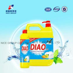 Odeur de citron frais haut de détergent lave-vaisselle Savon à vaisselle et d'eau