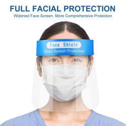 A fábrica viseira de protecção transparente Anti clara segurança nevoeiro o plástico protetor de rosto com personalizada de logotipo