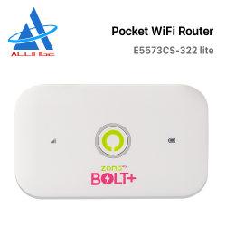 Router ad alta velocità di WiFi del modem del USB 4G della radio di Lyngou LG186 con la fessura per carta E5573CS-322 Lite di SIM