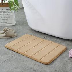De zachte Mat van de Agent van de Dekens van de Badkamers van de Badmat Absorberende Rubber Achter voor de Vloeren van de Badkamers van de Keuken