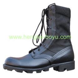 Haute qualité utilisé camouflage militaire armée tactique Jungle bottes noires