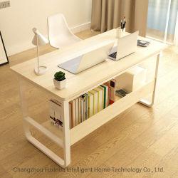 Simple de madera Escritorio con estantería