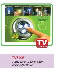 3 LED Stick y haga clic en la luz