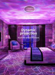 2021 nuove luci notturne proiettore laser lampada altoparlante proiezione Bt Proiettore Smart Galaxy WiFi con proiettore Mini Star Music Starry