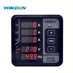 自動ProtectionおよびAlarm Indication DIGITAL Electric Power Meter Gv59