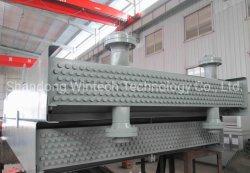 産業冷却部のひれ付き管の空気によって冷却される熱交換器
