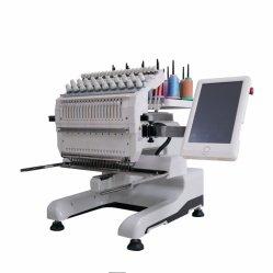 Ein geht voran, Ebene/Schutzkappe/T-Shirt/beendete Kleid-Computer-Stickerei-Maschinen-Preis verwendeten Bruder, den industrielle einzelne Hauptstickerei-Nähmaschine Nadel 20 haben
