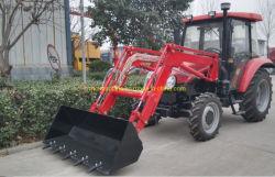 고품질 프론트 엔드 로더 Tz02D, Tz04D, Tz06D, Tz08d, Tz10d, Tz12D, Tz16D는 15-180HP 농업용 휠 팜 가든 트랙터와 매칭됩니다