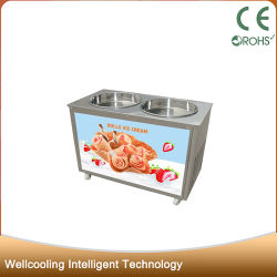 Icm Wellcooling-980 Rodillo 2 Pan Salteado Helado 60 Hz.