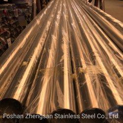 201 304 o tubo de aço inoxidável com polimento Lateral
