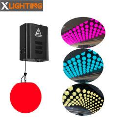 DMX 윈치 모터 키네틱 볼 RGB LED 라이츠 for Club 디스코 DJ Bar Stage 조명