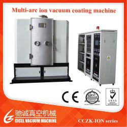 Negro cromado de arco de la máquina de revestimiento de metal duro equipo de pulverización