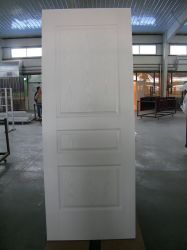 Engenharia Comercial cor branco da porta de madeira acabados interior da porta de Giro