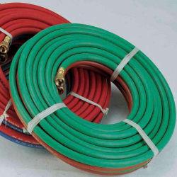 Le tissage de fibres de polyester à haute résistance de ligne en spirale vert flexible d'oxygène
