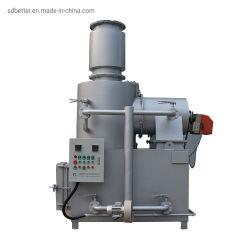 Alta Temperatura portátil Tipo de incineração de resíduos médicos incinerador de resíduos plásticos
