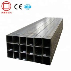 En10210 S355J0h /EN10219/EN10205/ASTM A500/S235/S275/S355 Seamless&soldar tubos de acero rectangular, Cuadrado negro.