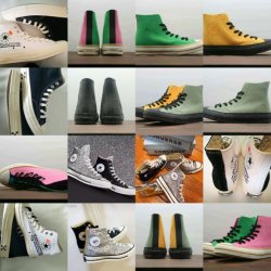 卸し売り JW アンダーソンは単一目の福田のコピーキャンバスの靴を感じた