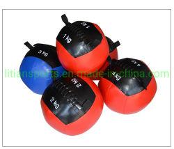 セリウムによって証明されるファクトリー・アウトレットの高品質のカスタム体操PUの柔らかいメディシンボール