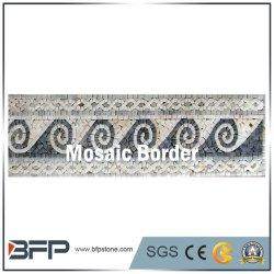 Marmo pietra motivi bordo mosaic Art bordi linea piastrelle