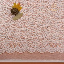 Ткань ткань Embroider Organdy кружевной вышивкой хлопок кружевом