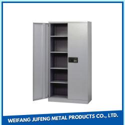 La hoja de acero de fabricación de OEM de metal estampado en el documento Archivador con bloqueo