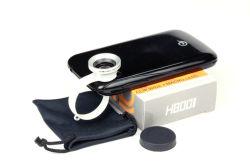 Encaixar Universal 180 Graus objectiva olho de peixe para a Samsung iPhone