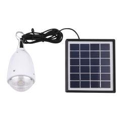 LED 1 W Lanterne solaire alimentés par batterie rechargeable pour utilisation à domicile
