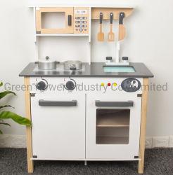 Maison de jeu en bois Jouets Jouets Cuisine European-Style simulé