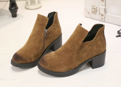 Suede Winter Boots低価格の女性