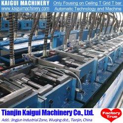Rullo di griglia di T che forma macchina per il T principale della barra del soffitto T e la fabbrica reale del T della traversa