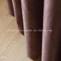 Foire de Canton 100 % Poly tissu gaufré rideau de fenêtre d'indisponibilité